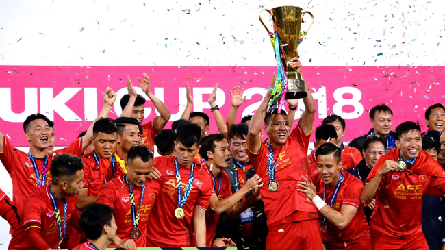 An extraordinary year of Vietnamese football